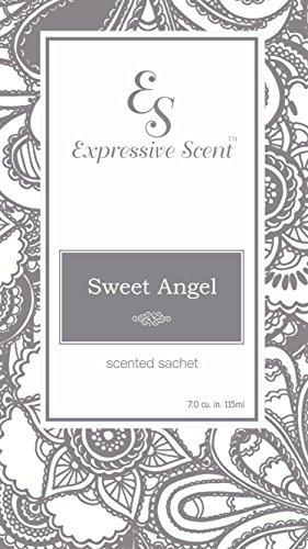 Angel Envelope (Expressive Scent 6 Pack Sweet Angel Large Scented Sachet Envelope By)