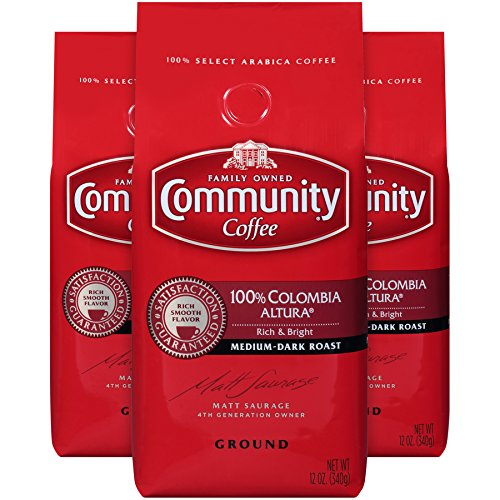 口感香浓顺滑,Community 甄选咖啡粉3袋