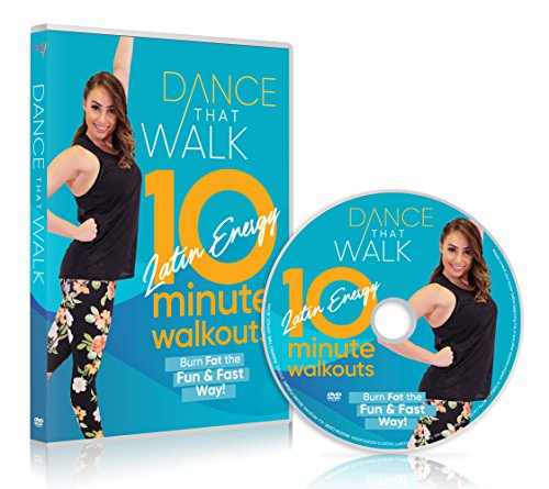Latin Dances Dvd - Dance That Walk - 10 Minute Latin Energy Walkouts: Low Impact Walking Workout DVD