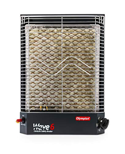 (Camco 57341 Olympian Wave-6 6000 BTU LP Gas Catalytic Heater)