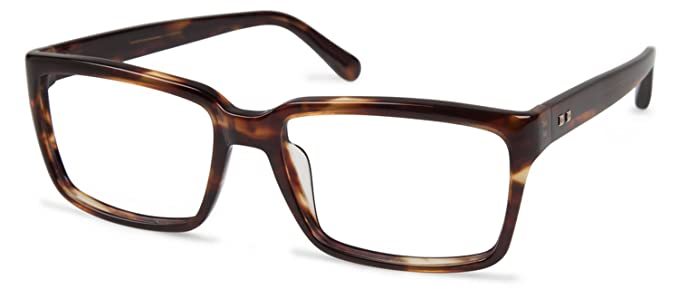 26a3b20e03 Image Unavailable. Image not available for. Color  Cynthia Rowley No. 47  Brown Horn Round Plastic Eyeglasses