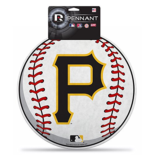 Rico MLB Pirates P Logo Carded Die Cut Pennant ()