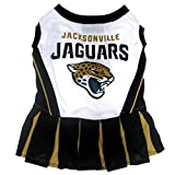 Jacksonville Jaguars NFL Cheerleader Dress For Dogs - Size X-Small