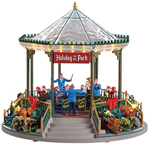 Lemax 94551 Christmas Holiday Garden Green Bandstand, Multicolored from Lemax