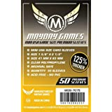 MAYDAY GAMES Mini USA Game Size Premium Sleeves. Size 41mm X 63mm