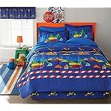 Builders Kids 6-piece Bed in a Bag Set Blue