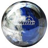 Brunswick TZone Indigo Swirl Bowling Ball (15-Pounds) by Brunswick