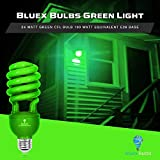 2 Pack BlueX CFL Green Light Bulb 24W - 100-Watt