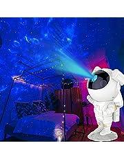 Astronaut Sterrenhemel Projectielamp, Verstelbare Helderheid Snelheid Nachtlampje Lamp Projector, Sterrenhemel Projector met Afstandsbediening en Timer voor Kamerdecoratie