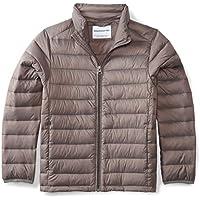 Amazon Essentials Boys' Lightweight Water-Resistant Packable Puffer Jacket