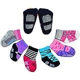 6 Pairs Anti-slip Cotton Baby Socks 12-24 Months Baby...
