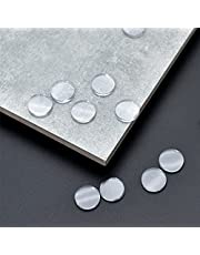 hocadon 30 stks Clear Bumper Pads, Helder Glas Tafelblad Bumpers, Ronde Duidelijke Platte Bumpers voor Meubels, Glas, Tafels, Niet Klevend (3 x 25mm)