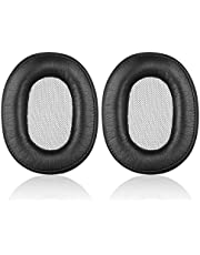MDR-1R Earpads - JECOBB Replacement Memory Foam & Protein Leather Ear Cushion Pads Cover for Sony MDR-1R, MDR-1RNC Headphones (Black)