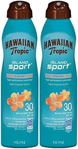 Sunscreen & Tanning: Hawaiian Tropic Island Sport