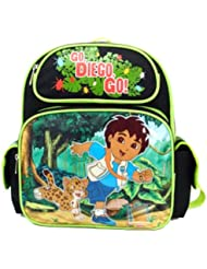 Small Backpack - Diego - Green Jungle (Diego & Tiger)