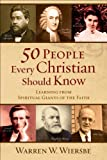 50 People Every Christian Should Know: Learning