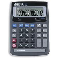 DT85V Compact Desktop Calculator, 12-Digit LCD