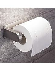 ZUNTO Porte Papier Toilette Auto-adhésif de sans Forage Support de Papier Mural Titulaire de Papier,Porte Rouleau Papier WC en Acier Inox Derouleur Papier WC
