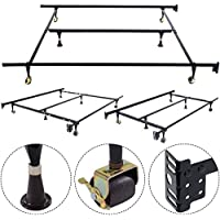 NEW Metal Bed Frame Adjustable Queen Full Twin Size with Center Support