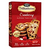 Nonni's THINaddictives, Thin Cookies, Cranberry