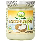 Everland Coconut Oil Refined, Clear Glass Jar, 500ml