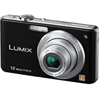 Panasonic DMC-FS12 Digital Camera Black 012.1MP.4x ZOOM.2.7 LCD (International Model)