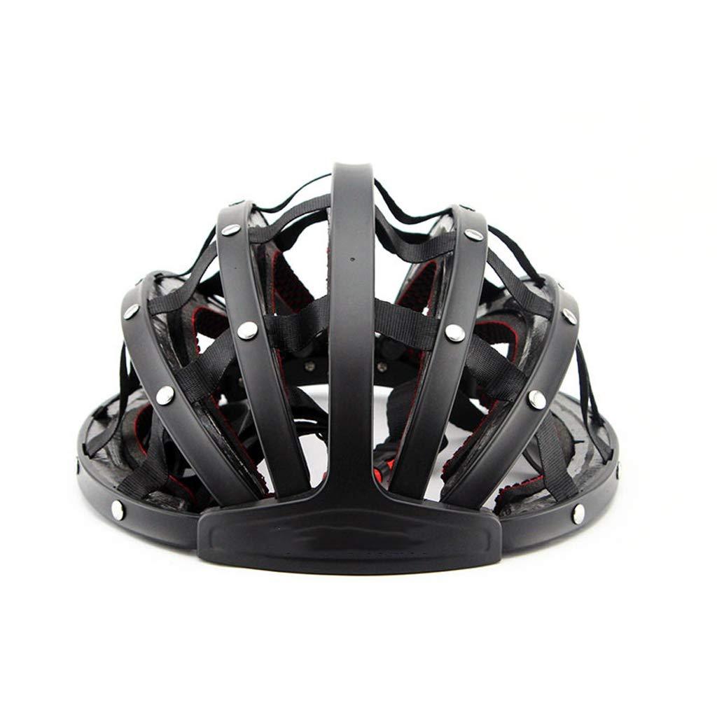 TYXHZL Faltbare Fahrradhelm Helm Fahrrad-Helm Fahrrad-Zubehör