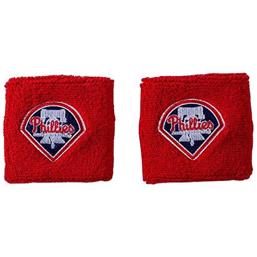 Franklin Sports MLB Philadelphia Phillies Wristbands