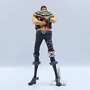 Idle Decormay One Piece Series Anime Ornament Garage Kits Simulation Collection Toys Gift Home Furnishing Article Home Decoration for Friends Children(Katakuri Style 1)