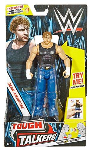 WWE Tough Talkers Dean Ambrose Figure, 6'' by WWE