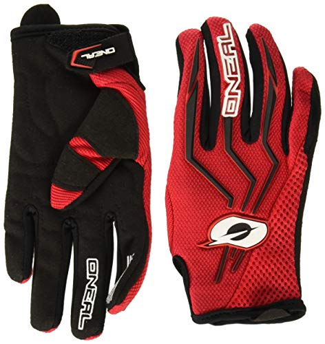 O'Neal Unisex-Adult Element Glove (Red, Medium)