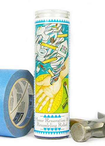Everyday Home Renovation & Remodeling Relief Prayer Candle by Everyday (Image #2)