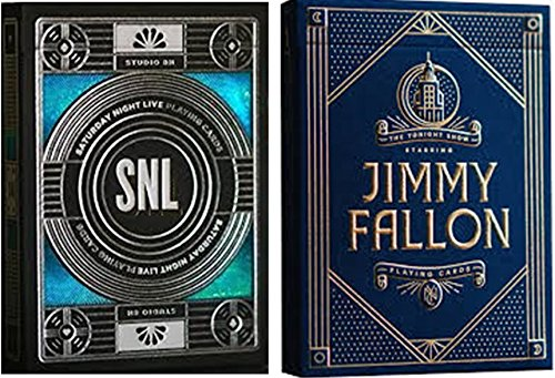 Wilddeckdotcom Saturday Night Live w/Jimmy Fallon (Saturday Night Live & Jimmy Fallon) 2-Deck Set Playing Cards by Theory 11