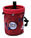 Little Kid Sized Spiderman Chalk Bag For 3-8 Year Olds (USA made) by Pure Grit
