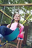 "Jungle Gym Kingdom Swing Seat Heavy Duty 66"" Chain Plastic Coated - Playground Swing Set Accessories Replacement 