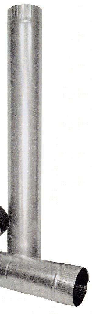 Theca - Tubo estufa galvanizado 150 theca