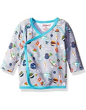 Unisex Baby Printed Kimono Top