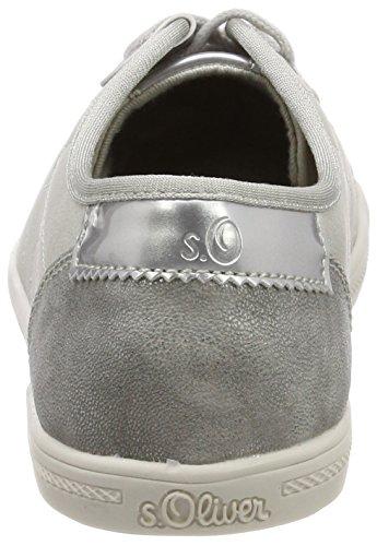 s.Oliver Damen 23631 Sneaker Grau (Lt Grey)