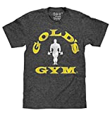 Gold's Gym Strongman Logo | Soft Touch Tee-x-Large,Black Onyx Heather