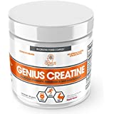Genial Creatine Powder, Post Workout Supplement For Men and Women with Creapure Monohydrate, Hydrochloride (HCL) MagnaPower and Carnosyn Beta-Alanine SR, Natural Lean Muscle Builder – Sour Apple, 188G