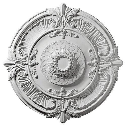 Attica 39.5 H x 39 1 2 W x 2.5 D Ceiling Medallion by Ekena Millwork