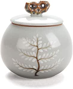 RMXMY Burial Urn at Home Office of Life Cremation urn Memorials urns Container Jar Pot | Brass Urns | Metal Urn | Burial Urn | Memorial Urn (Small Size)