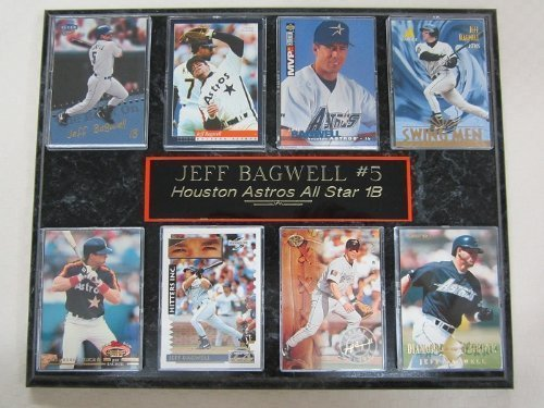 Astros Jeff Bagwell 8 Card Plaque