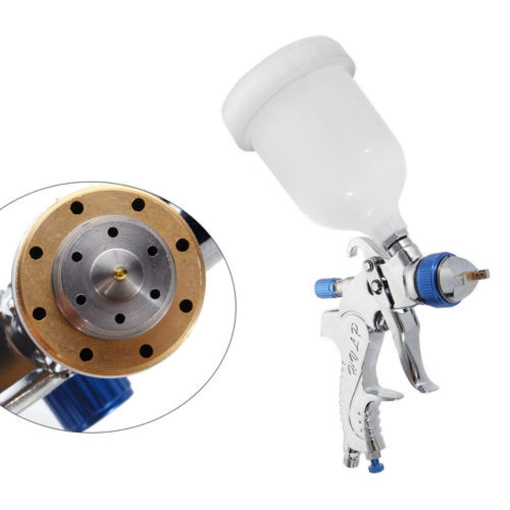Air Spray Gun HVLP Kit 2.0mm Nozzle Set Paint Touch Up Gravity Feed Atomization by TFCFL (Image #7)