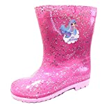 Mermaid Glitter Girls Wellington Rain Boots Wellys