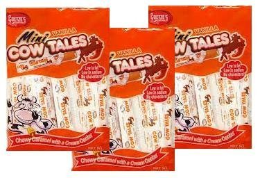 Goetze's Mini Vanilla Cow Tales, 4 Ounce Bag (Pack of -
