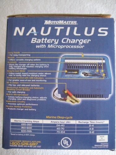 motomaster car battery charger manual