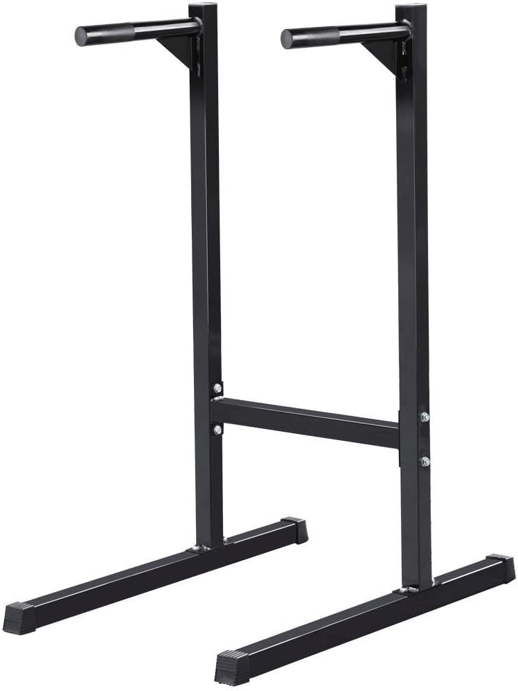 amazon com dip stands strength training equipment sports \u0026 outdoorsyaheetech heavy duty dip stand parallel bar bicep triceps home gym dipping station dip bar power