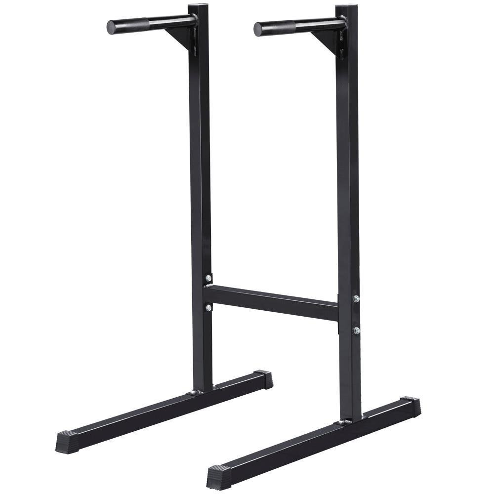 Yaheetech Heavy Duty Dip Stand Parallel Bar Bicep Triceps Home Gym Dipping Station Dip Bar/Power Tower by Yaheetech