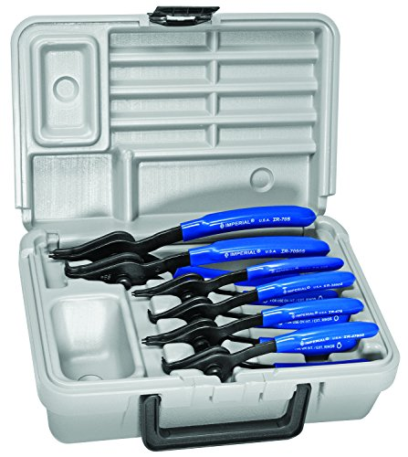 Imperial Tool IR-090K 6 Pc. Std. Convertible Pliers Kit 0° and 90°